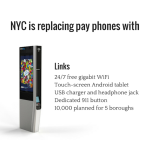 LinkNYC - NYC is replacing pay phones
